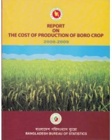 Report on the Cost of Production of Boro Crop, 2008-2009