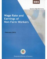 Quarterly Wage Rate Survey, April-June, 2011: Wage Rate and Earnings of Non-Farm Workers