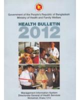 Health Bulletin (Bangladesh)-2012