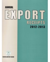 Annual Export Receipts 2012-2013