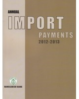 Annual Import Payment 2012-2013