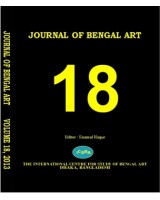 Journal of Bengal Art, Volume – 18, 2013