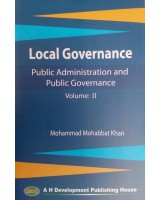 Public Administration and Public Governance, Volume II: Local Governance