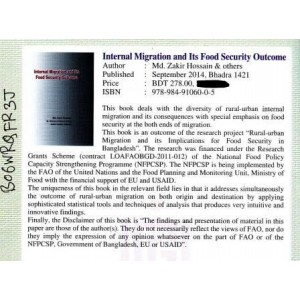 Internal Migration and Its Food Security Outcome