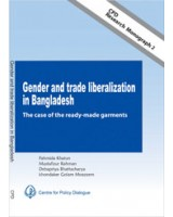 Gender and Trade Liberalisation in Bangladesh: The case of the readymade garments (CPD Research Monograph-2)