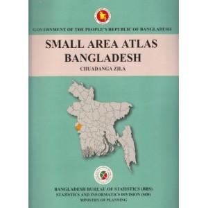 Small Area Atlas of Bangladesh, Mauzas and Mahallas of Chuadanga Zila (Book & CD)