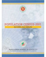 Population Census-2001, Zila Series, Zila: Habiganj