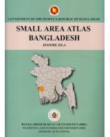 Small Area Atlas of Bangladesh, Mauzas and Mahallas of Jessore Zila (Book & CD)