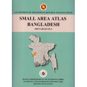Small Area Atlas of Bangladesh, Mauzas and Mahallas of Jhenaidah Zila (Book & CD)