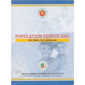 Population Census-2001, Zila Series, Zila: Manikganj