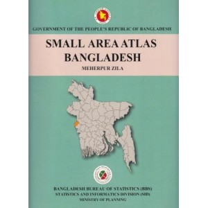 Small Area Atlas of Bangladesh, Mauzas and Mahallas of Meherpur Zila (Book & CD)