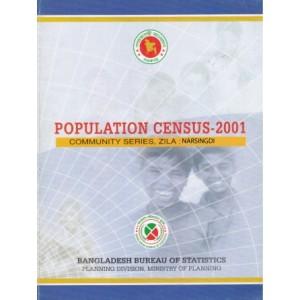 Population Census-2001, Community Series, Zila: Narsingdi