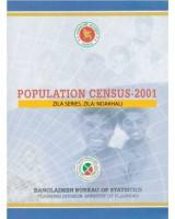 Population Census-2001, Zila Series, Zila: Noakhali