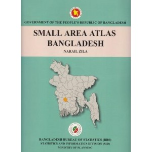 Small Area Atlas of Bangladesh, Mauzas and Mahallas of Naril Zila (Book & CD)