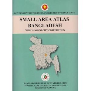 Small Area Atlas of Bangladesh, Mauzas and Mahallas of Narayanganj City Corporations (Book & CD)