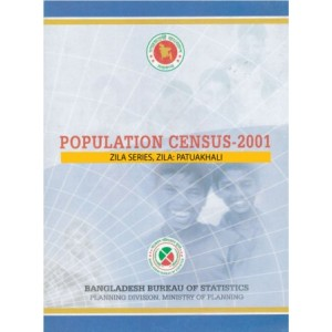 Population Census-2001, Zila Series, Zila: Patuakhali