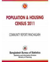 Bangladesh Population and Housing Census 2011, Community Report: Panchagarh District
