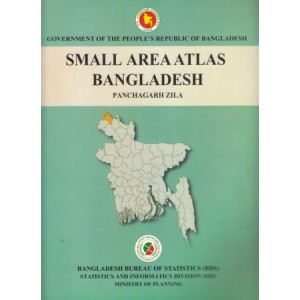 Small Area Atlas of Bangladesh, Mauzas and Mahallas of Panchagarh (Book & CD)