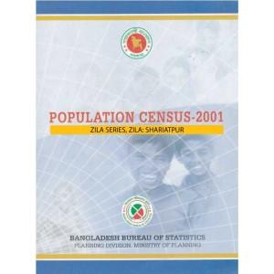Population Census-2001, Zila Series, Zila: Shariatpur