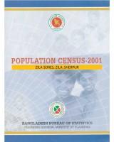 Population Census-2001, Zila Series, Zila: Sherpur