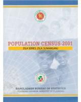 Population Census-2001, Zila Series, Zila: Sunamganj
