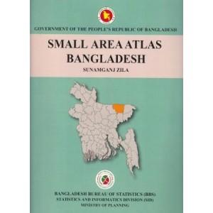 Small Area Atlas of Bangladesh, Mauzas and Mahallas of Sunamganj Zila (Book & CD)