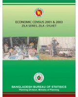 Economic Census 2001 & 2003, Zila Series: Sylhet