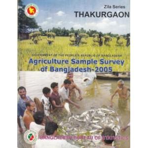 Agricultural Sample Survey of Bangladesh-2005: Thakurgaon District