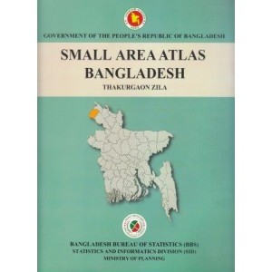 Small Area Atlas of Bangladesh, Mauzas and Mahallas of Thakurgaon Zila (Book & CD)