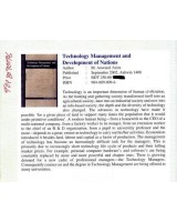 Technology Management and Development of Nations