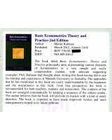 Basic Econometrics Theory and Practice