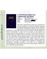 Communication Engineering Fundamentals