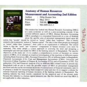 Anatomy of Human Resources Measurement and Accounting